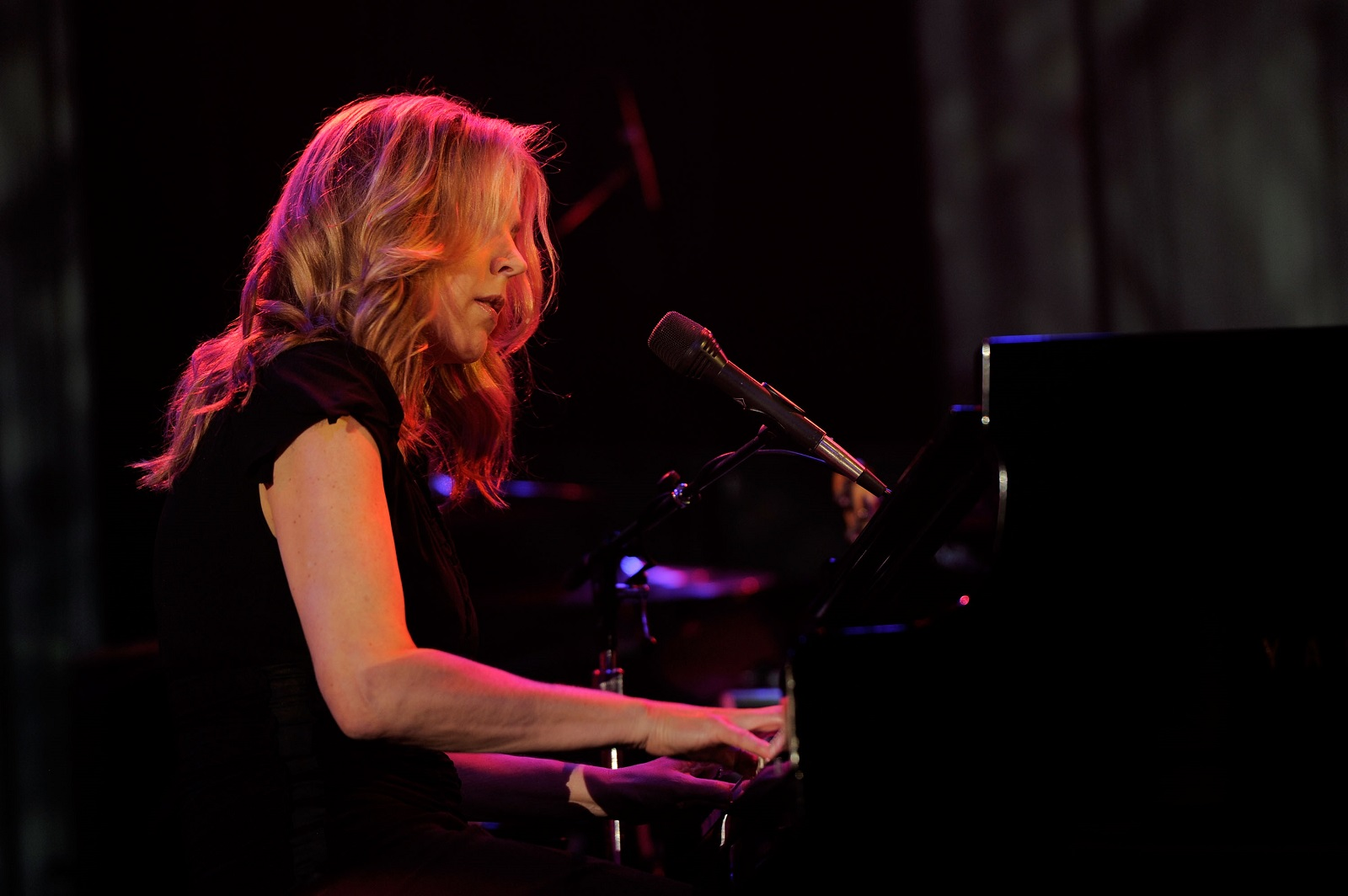 Diana Krall onstage in 2012 in 2012 in Beverly Hills. (Larry Busacca/Getty Images For The Recording Academy)