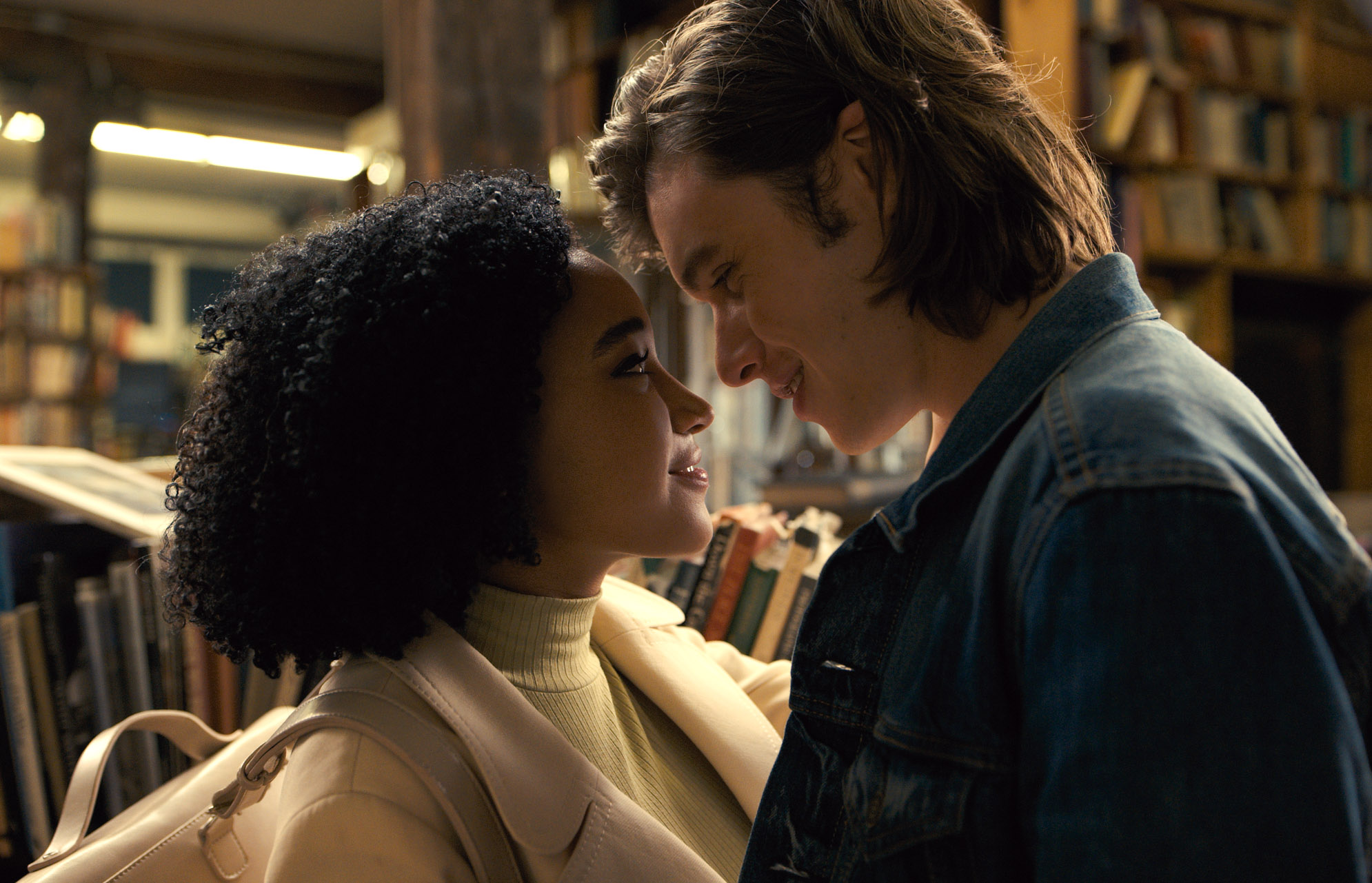 "Amandla Stenberg and Nick Robinson star in ""Everything, Everything."""