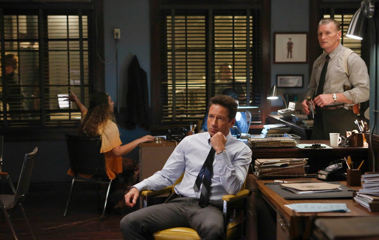 David Duchovny starred in the now canceled 'Aquarius.' (Vivian Zink/NBC)
