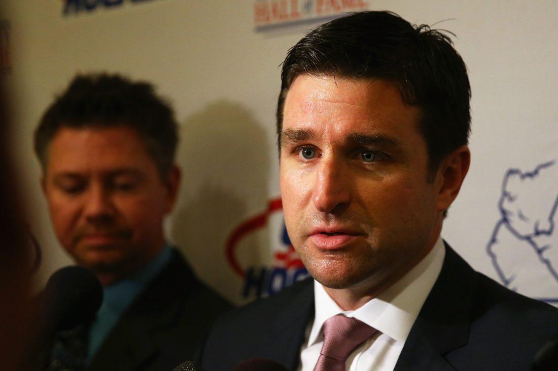 Rangers name Chris Drury as GM of AHL's Hartford Wolf Pack