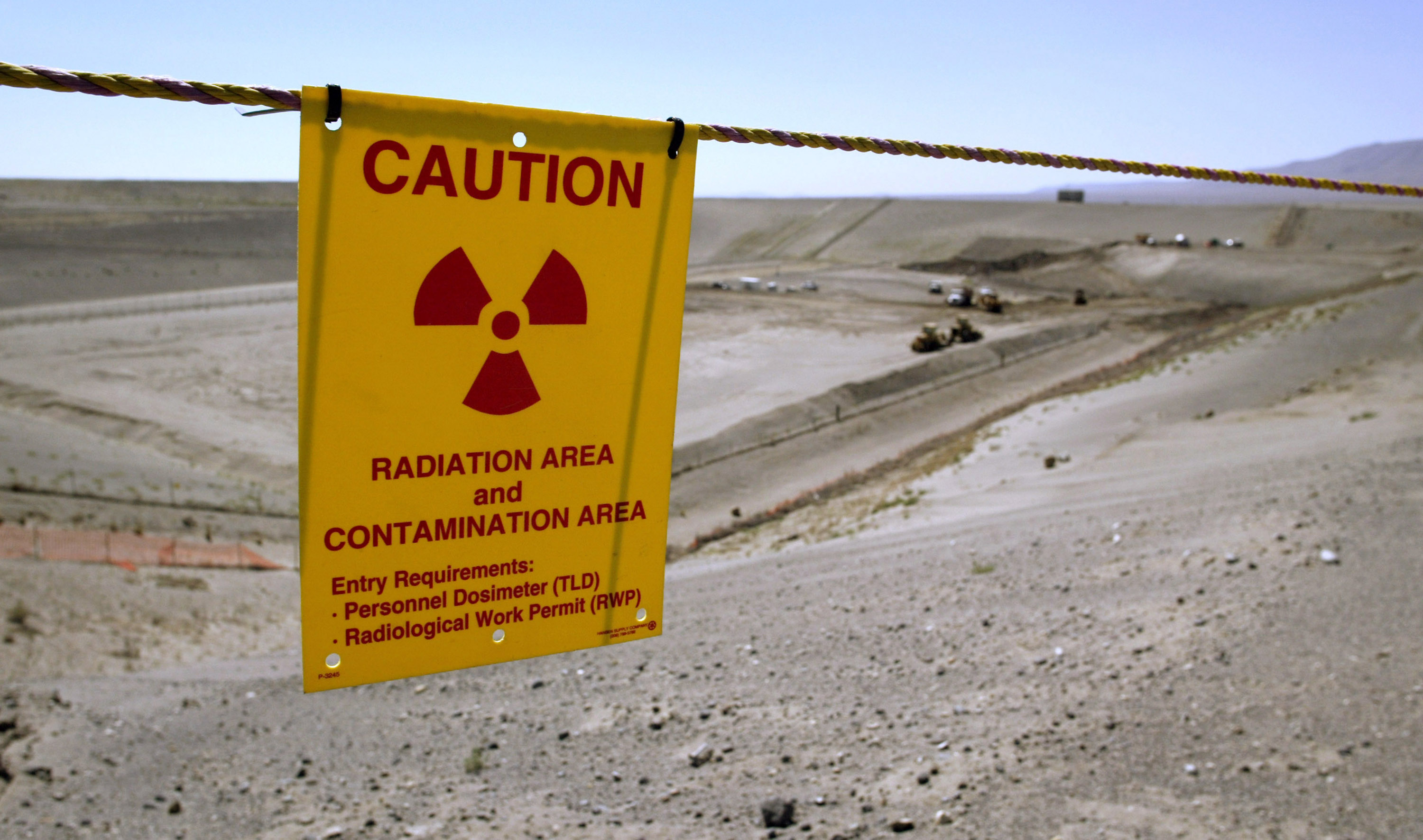 A Getty file photo of the Environmental Restoration Disposal Facility at the Hanford Nuclear Reservation  near Richland, Washington.