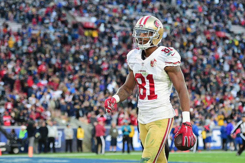 Rod Streater at Los Angeles Memorial Coliseum on December 24, 2016 in Los Angeles, California. (Getty Images)