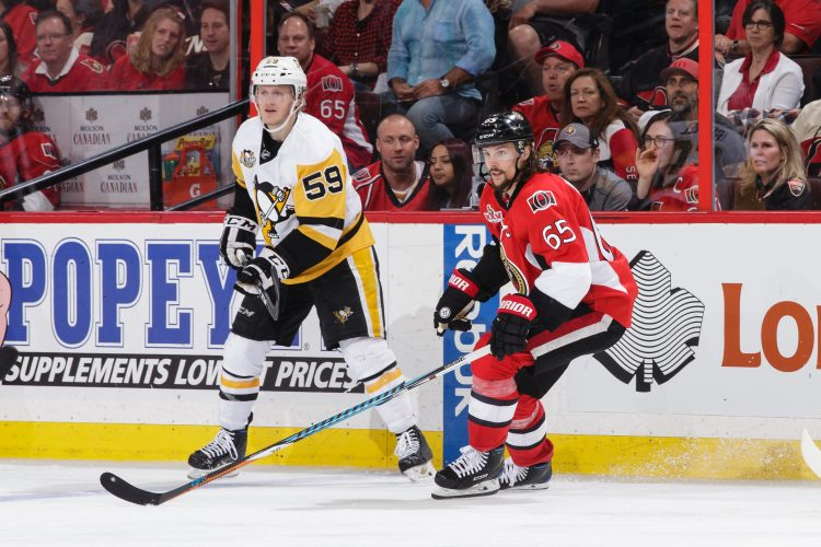 NCAA alums populate Pens' roster. Could that be the Sabres' future?