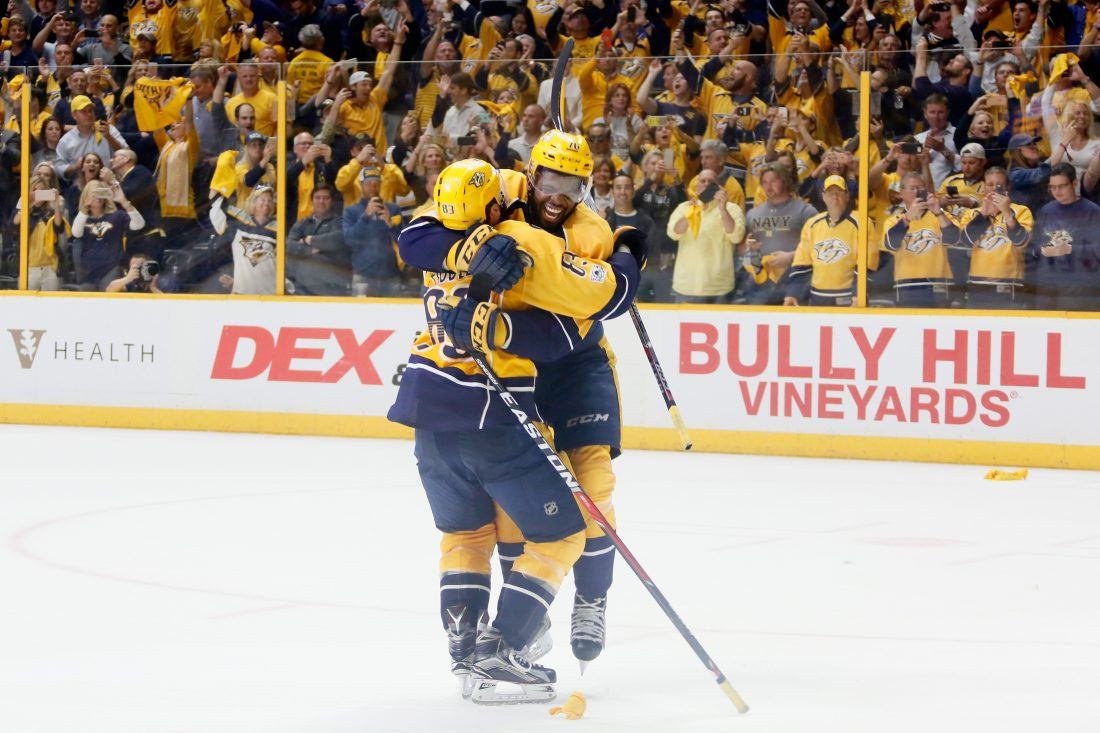 Predators want more than finals