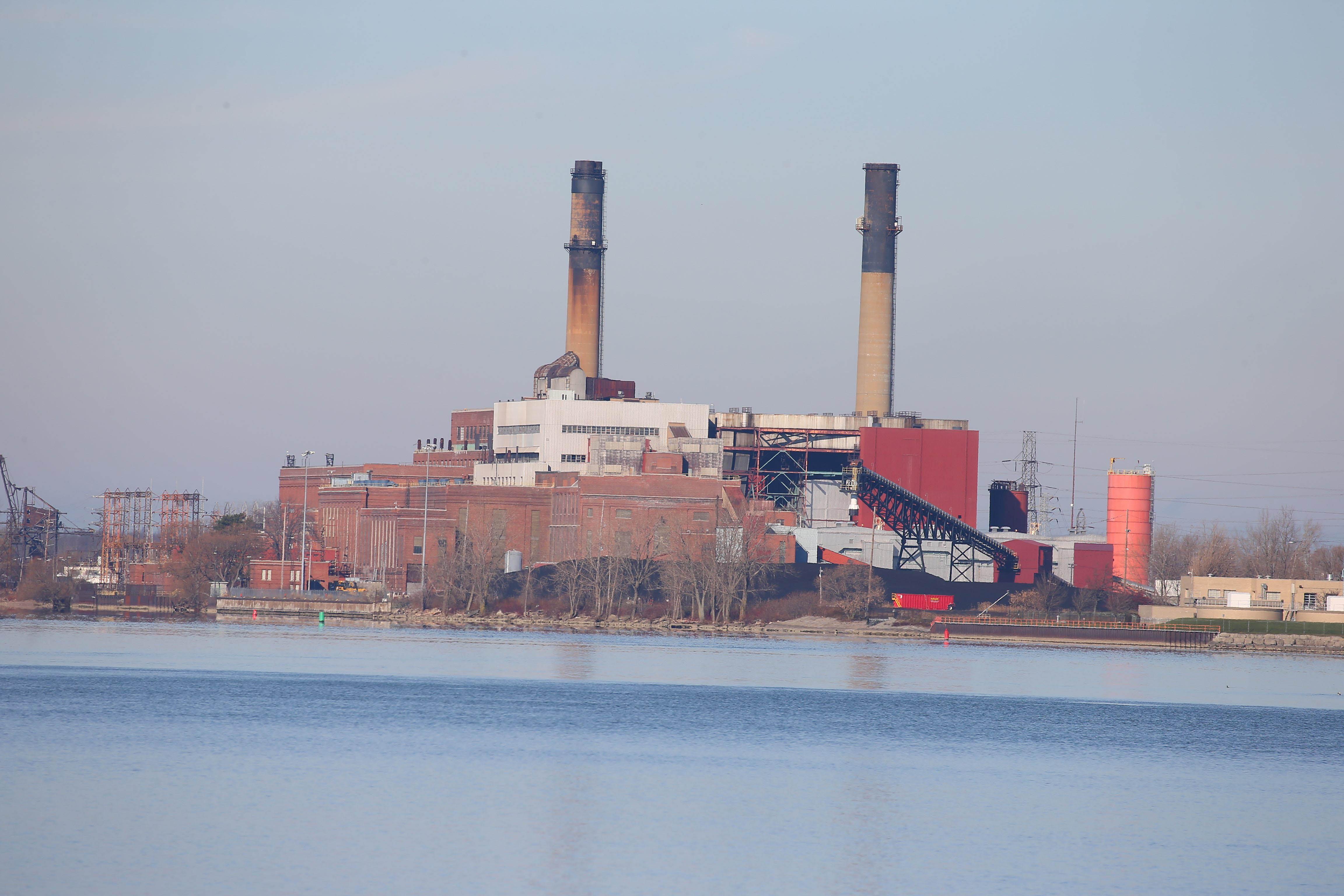 The  Huntley Power Plant in Town of Tonawanda  (John Hickey/Buffalo News)
