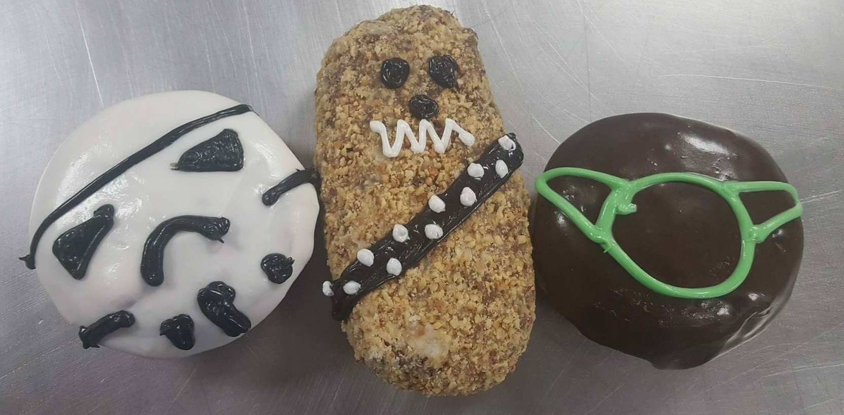 Paula's is rolling out three doughnuts in honor of May 4, a date significant to 'Star Wars' fans. (Photo courtesy of Paula's Donuts.)
