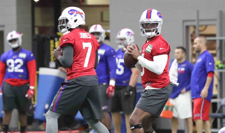 Bills at QB: Could pay cut and uncertain future negatively impact Taylor?