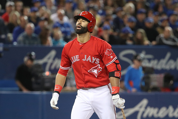 Jose Bautista struck out 30 times in his first 90 at-bats this season (Getty Images).