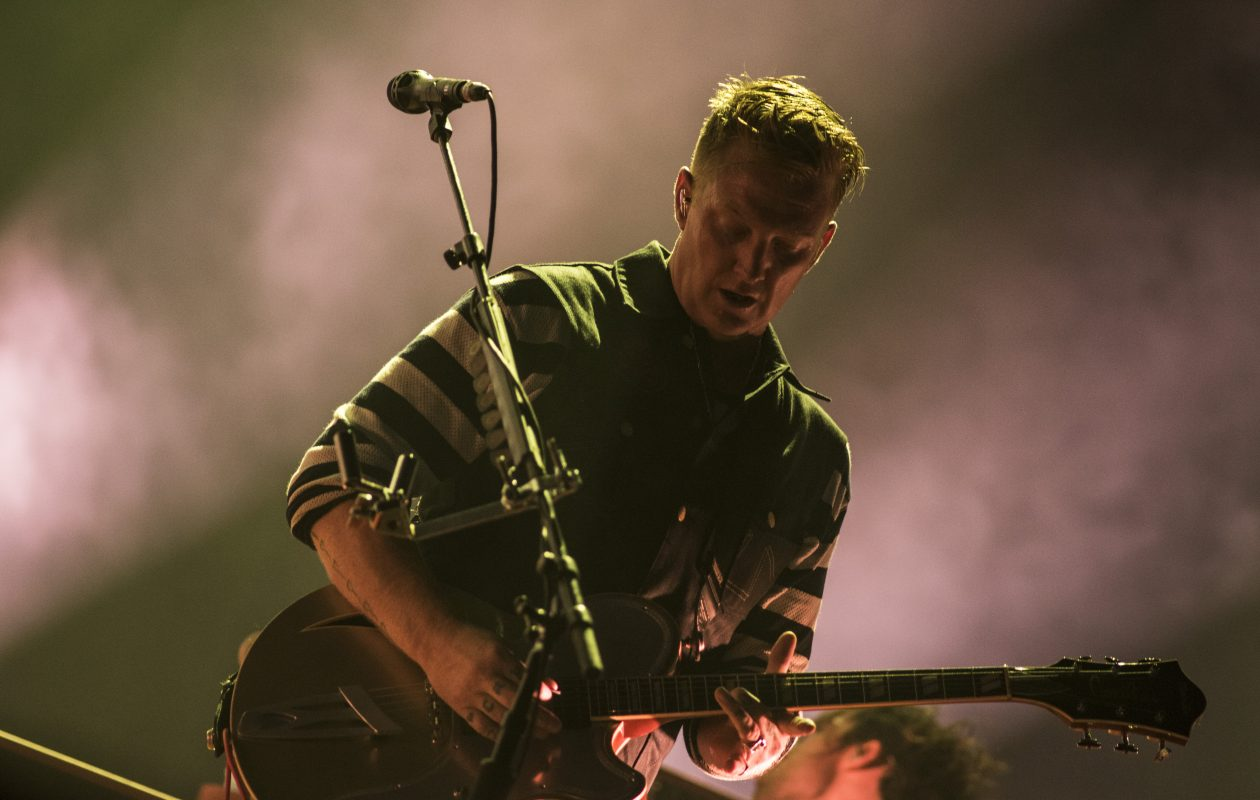 Josh Homme and Queens of The Stone Age will perform at Rapids Theatre. (Getty Images)