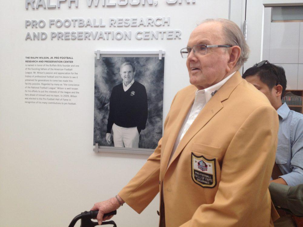 The late Ralph C. Wilson Jr. (Courtesy The Buffalo Bills)