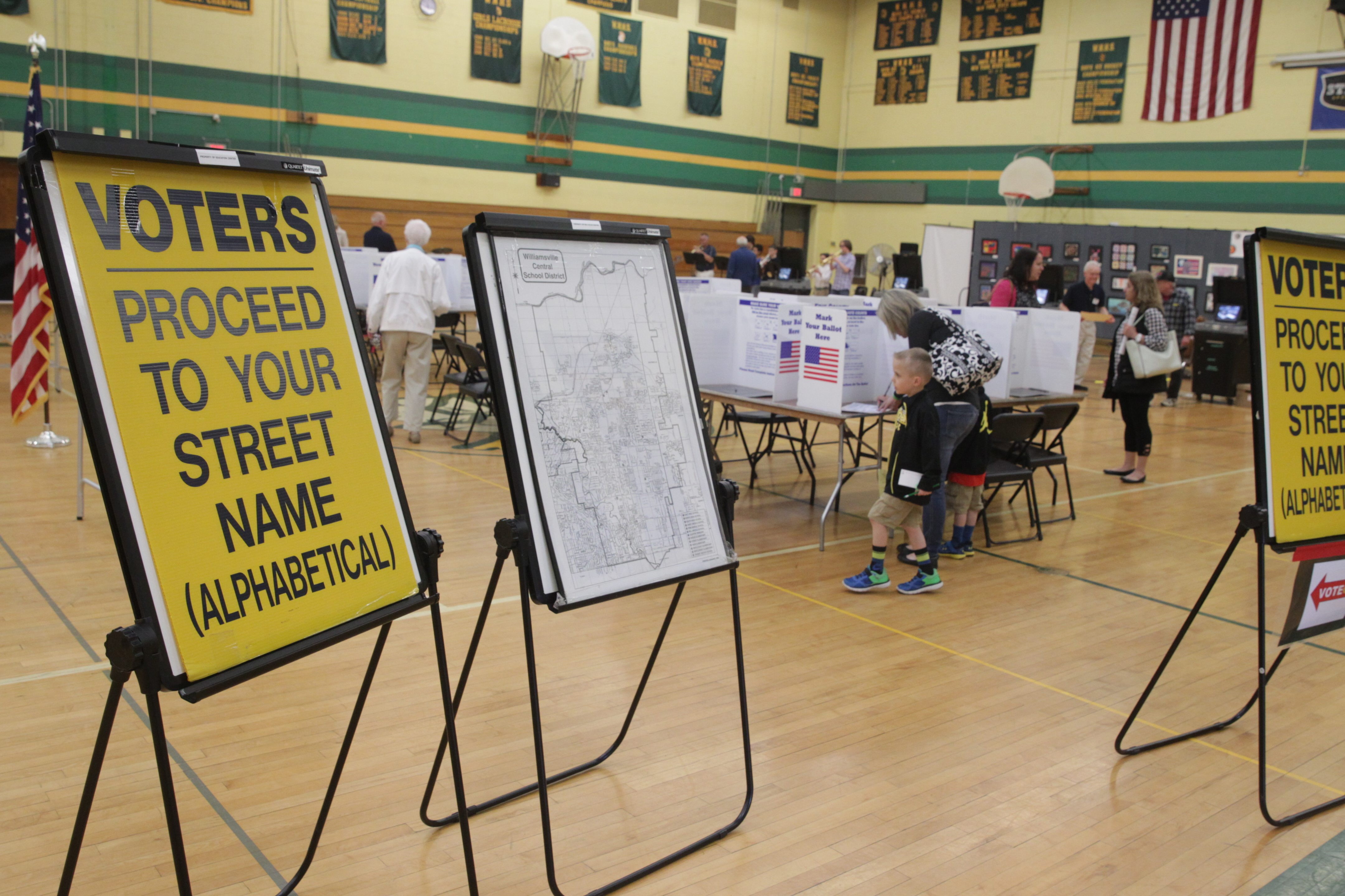 Voters head to the polls Tuesday for school district elections. (John Hickey/Buffalo News file photo)