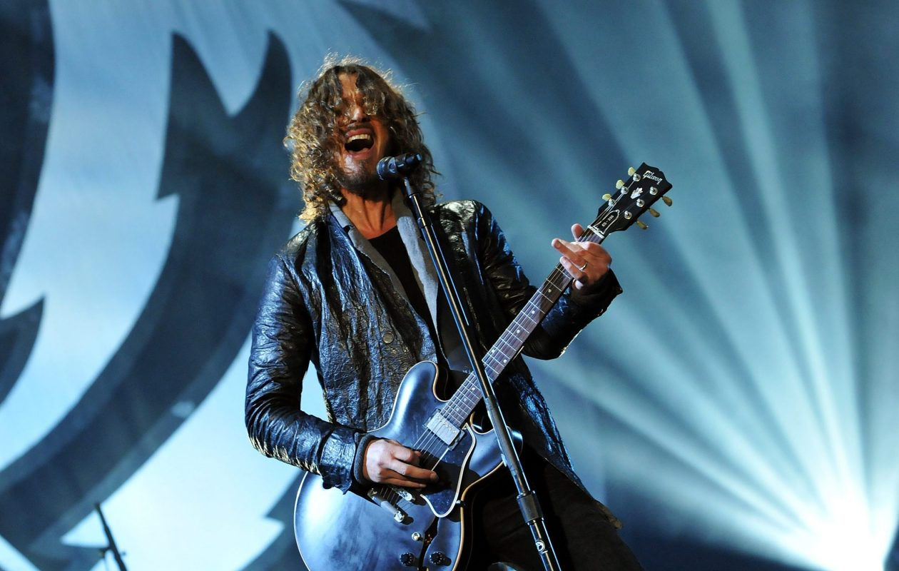 Chris Cornell  performs with Soundgarden n London in 2012. (Getty Images)
