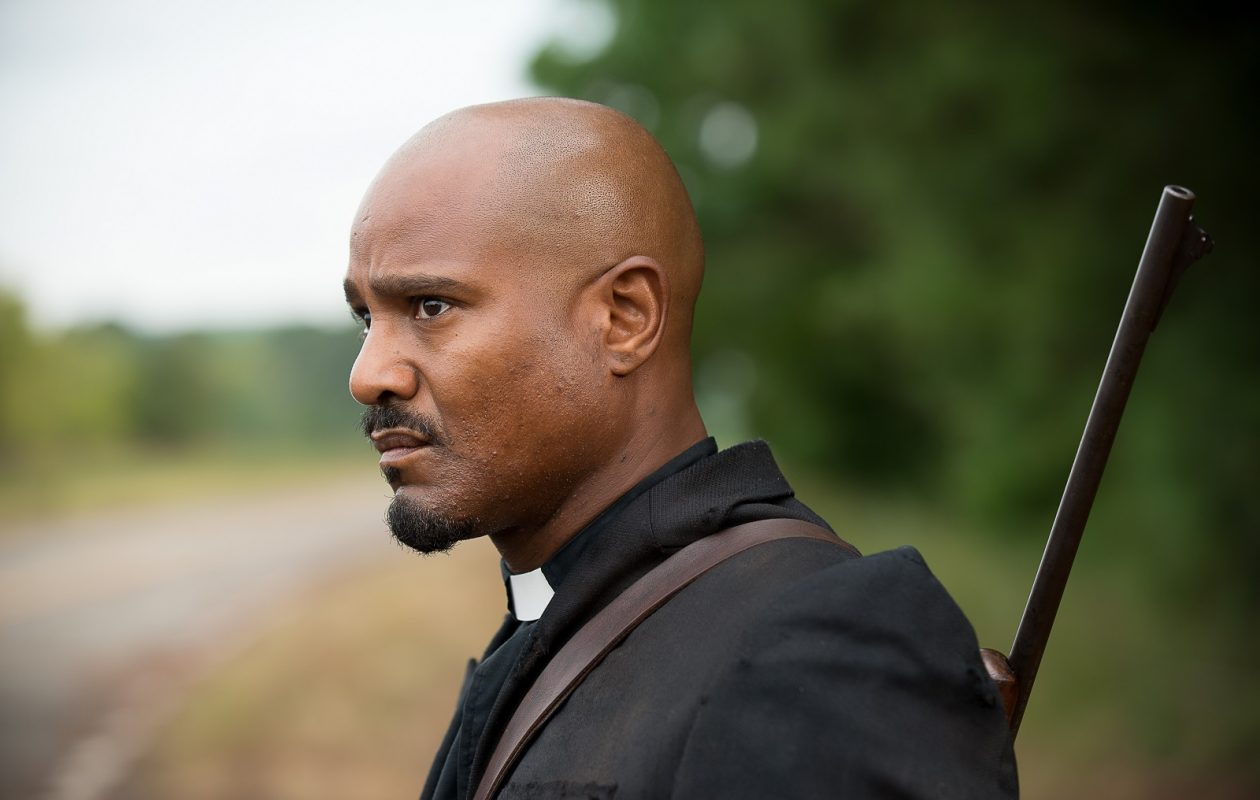 Seth Gilliam said he has enjoyed the evolution of his character, Father Gabriel, on 'The Walking Dead.' (Gene Page/AMC)