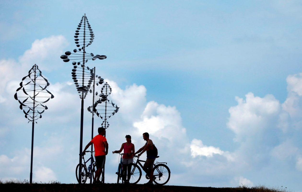Take a bike round around Wilkeson Point at the Outer Harbor. (Mark Mulville/News file photo)