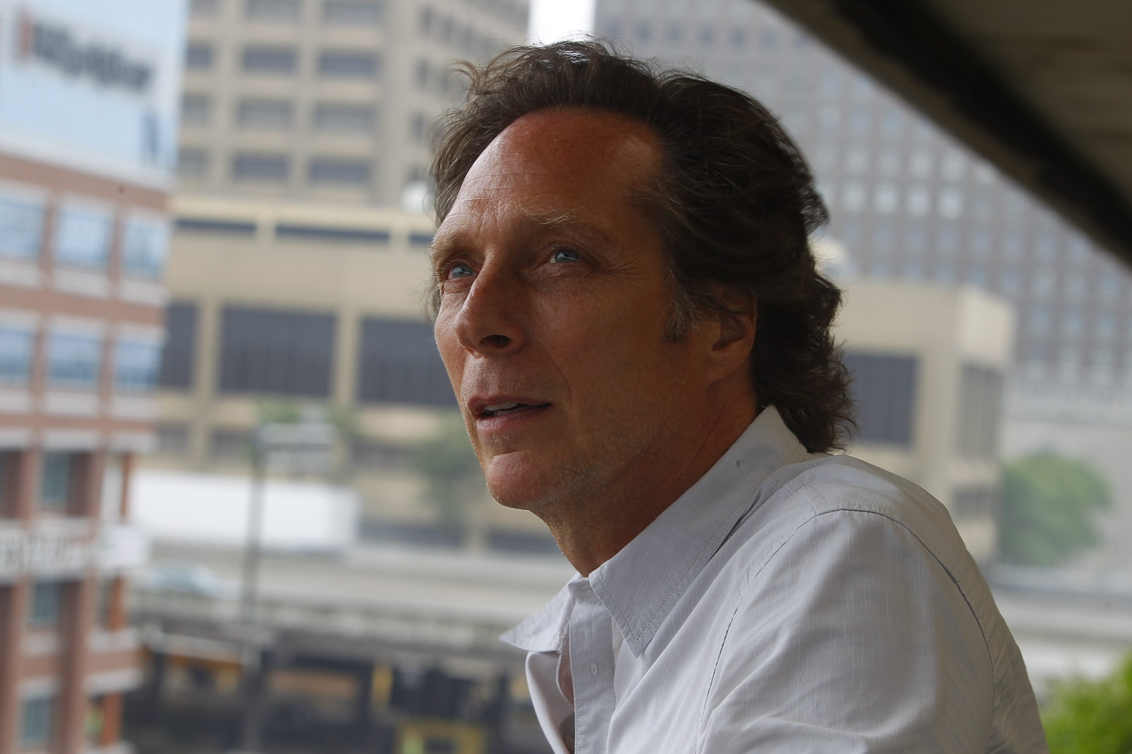 William Fichtner during a visit to The Buffalo News  in 2014.  (John Hickey/Buffalo News)