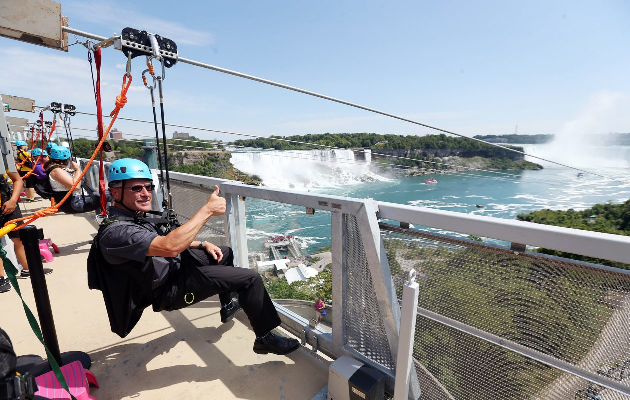 Go ziplining in Niagara Falls — or at Holiday Valley. (Sharon Cantillon)