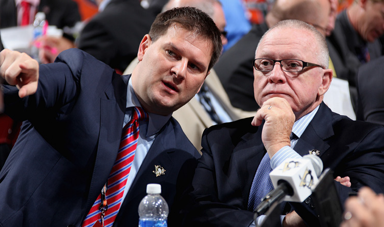 Sabres get 'No. 1 pick' in Botterill, Penguins' GM says