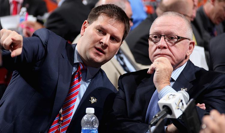 Sabres get 'No. 1 pick' in Botterill, Penguins' GM says