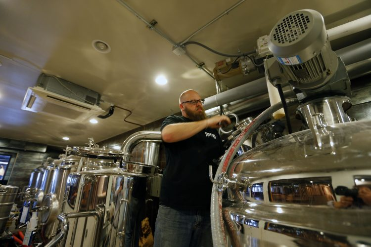 Brickyard Brewing Co. in Lewiston to offer first beers this weekend
