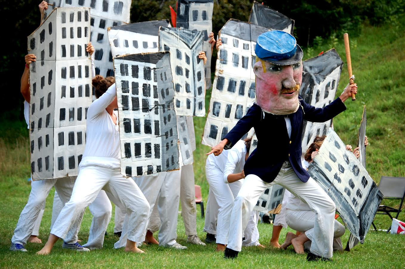 Bread & Puppet Theatre, known for its cheaply made, papier mache puppets and socially conscious performances, will perform in SUNY Buffalo State's Donald Savage Theatre on May 23.
