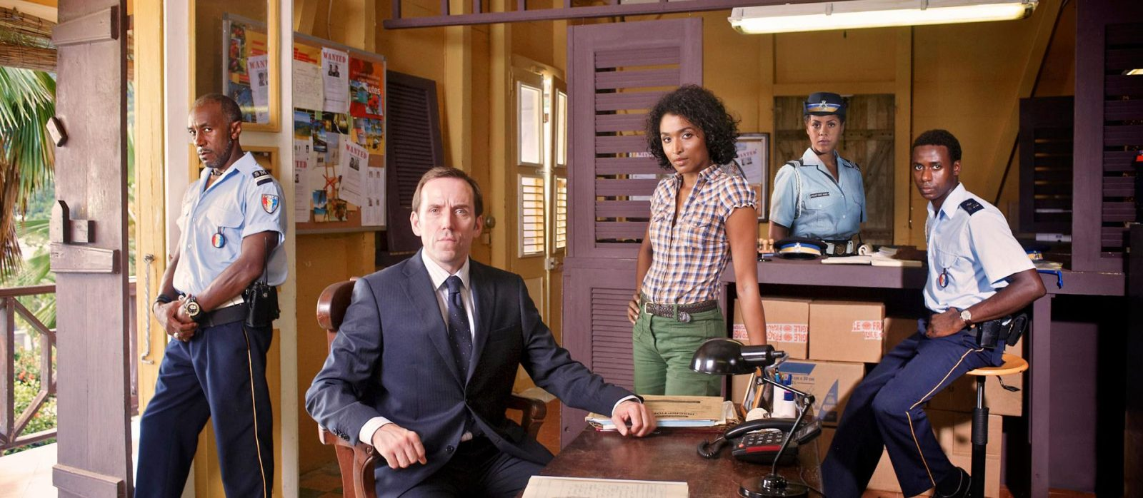 "The cast of ""Death in Paradise"" (News file photo)"