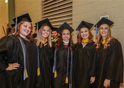 Smiles at Canisius College commencement