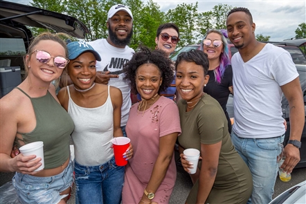 Smiles at Future's concert at Darien Lake