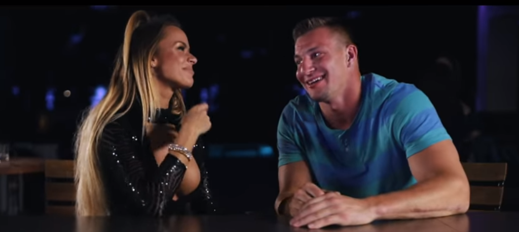 Rob Gronkowski appeared in a music video for the band 3LAU in 2017.
