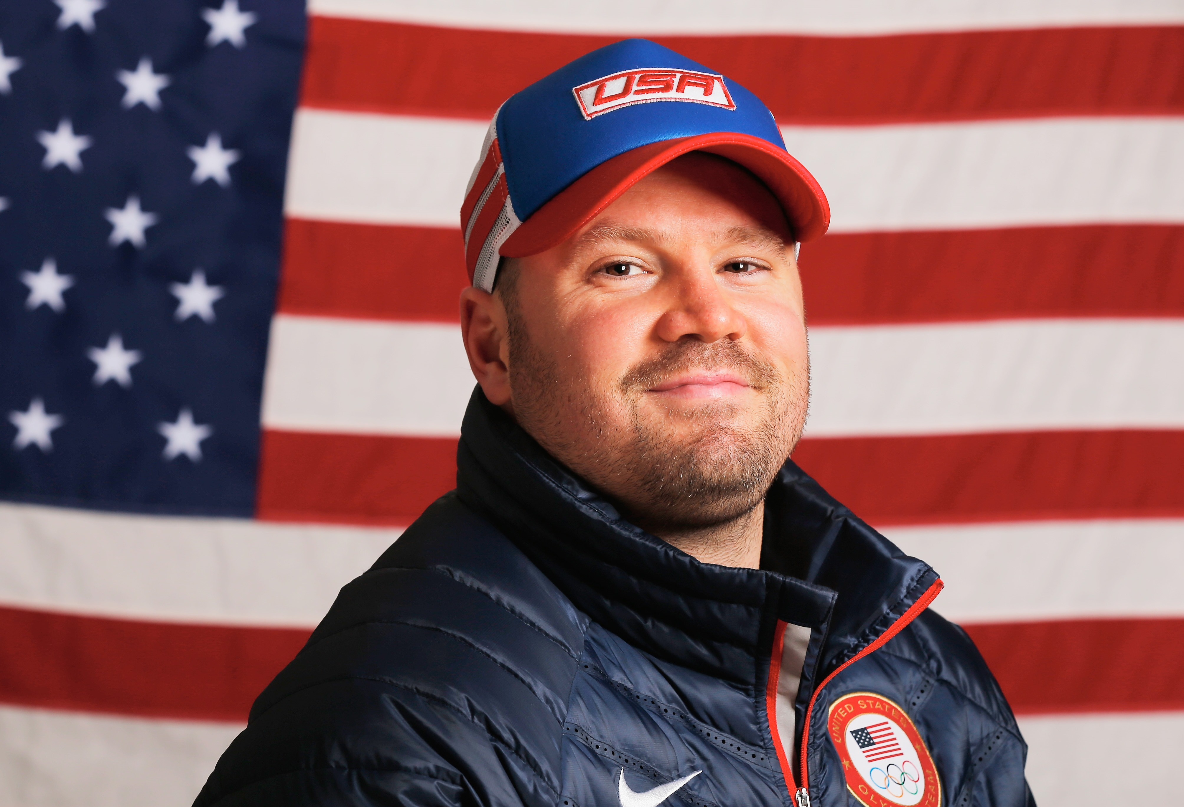 U.S. Olympic bobsledder Steven Holcomb, 37, was found dead Saturday. (Getty Images)