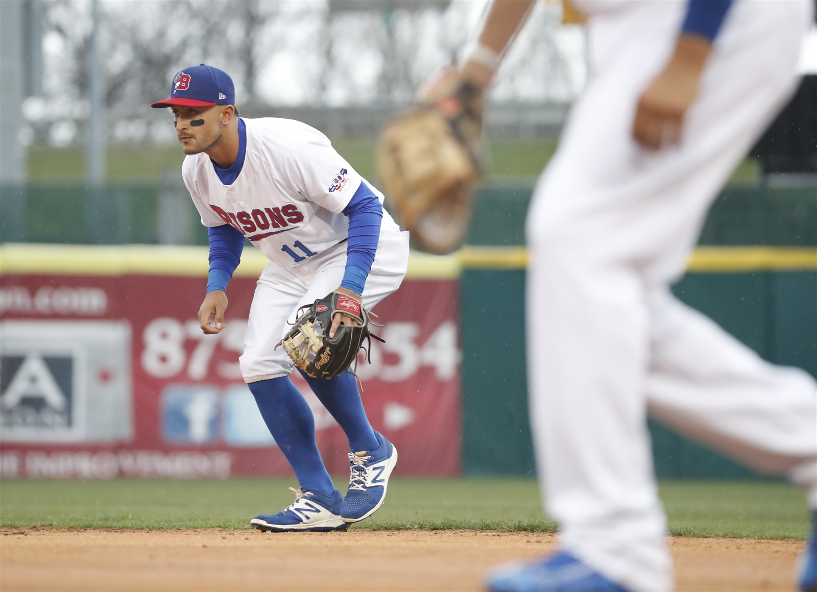 Christian Lopes has reached base in seven straight plate appearances. (Harry Scull Jr./Buffalo News)