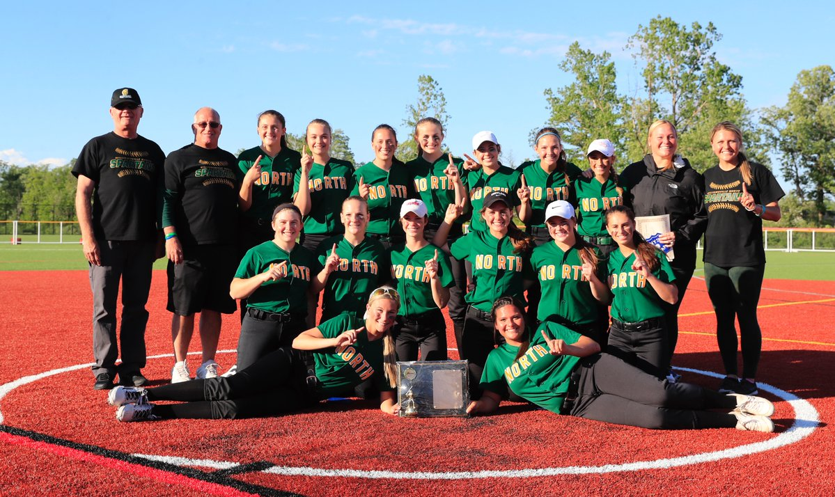 Williamsville North is heading to regionals for the first time since 2009 after winning the Section VI Class AA softball championship Tuesday. (Harry Scull Jr./Buffalo News)
