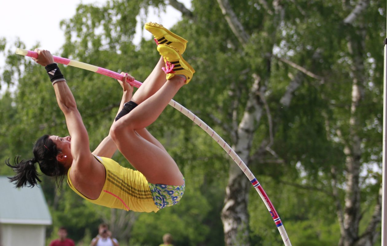 WNYer Jenn Suhr is a former Olympic pole vault champion. (Harry Scull Jr. /News file photo)