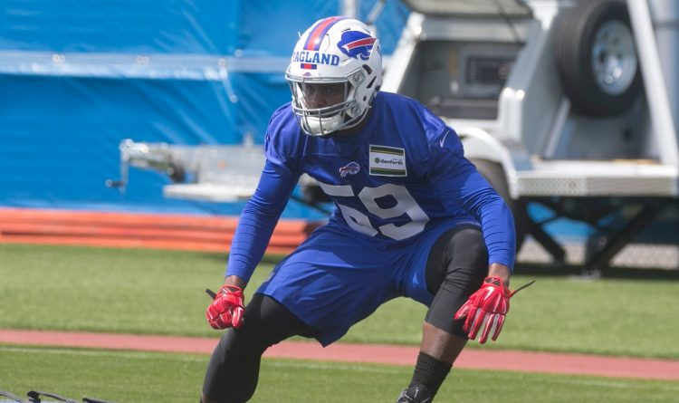 Reggie Ragland puts knee through first big test in Bills' OTAs