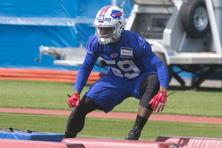 Reggie Ragland easing his way back into practice for Bills