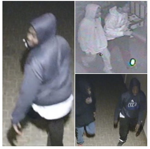 Buffalo police released three images of burglars who broke into True Bethel Baptist Church on E. Ferry Street one week ago. Rev. Darius Pridgen, who is also the president of the Buffalo Common Council, made a plea to the young men to turn themselves in but they did not. (Provided by Buffalo Police Department)
