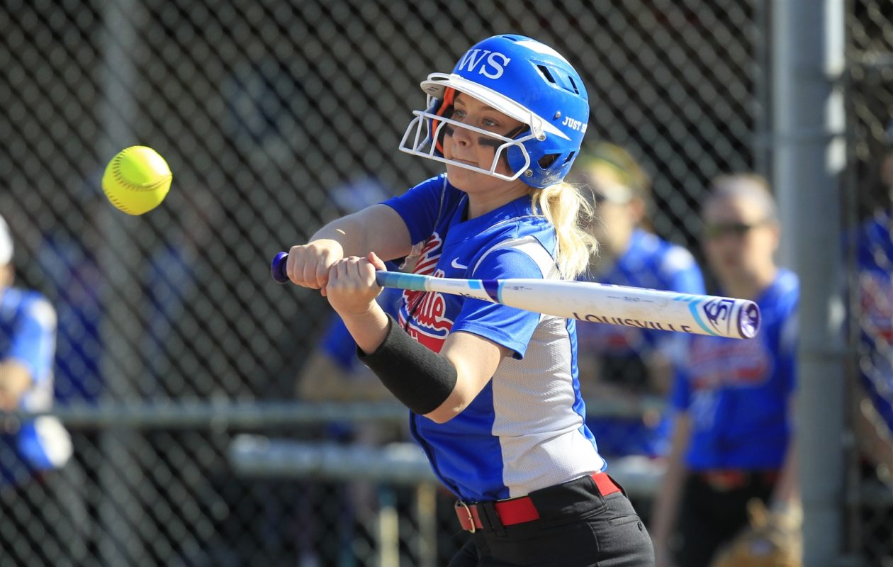Katie Quagliana and the Williamsville South Billies are slated to face Williamsville East for the Section VI Class A-1 championship Thursday, weather permitting. (Harry Scull Jr./Buffalo News)
