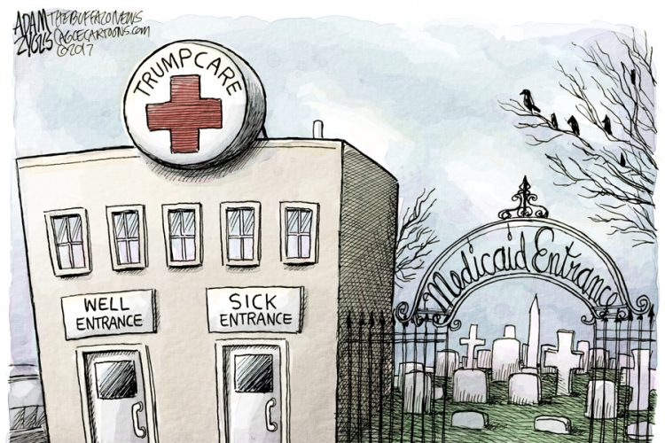 Adam Zyglis: Medicaid cuts