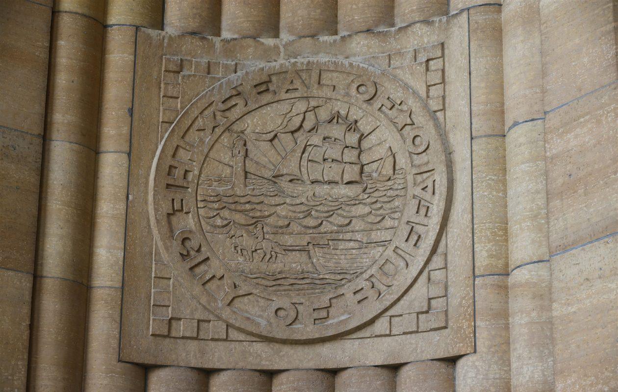 The seal of the City of Buffalo. (Derek Gee/News file photo)
