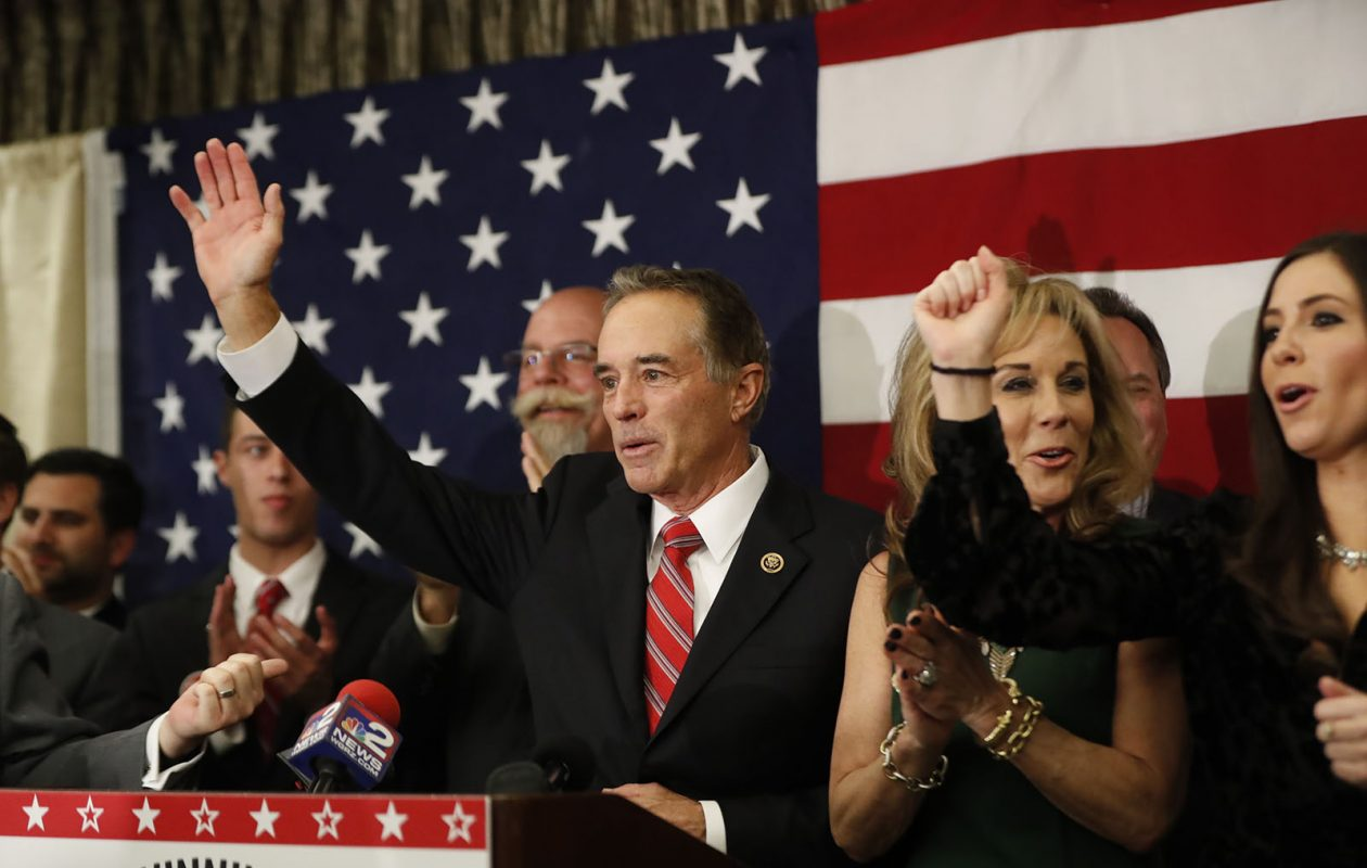 'For my own protection, and for the protection of those around me, I'm putting these (Second Amendment) values into practice,' Rep. Chris Collins wrote in an op-ed published on the Washington Post's website. (Harry Scull Jr./News file photo)