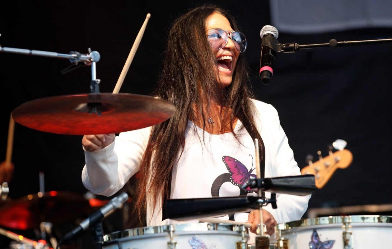 Sheila E. honored Prince at her Canalside concert. (Sharon Cantillon/Buffalo News)