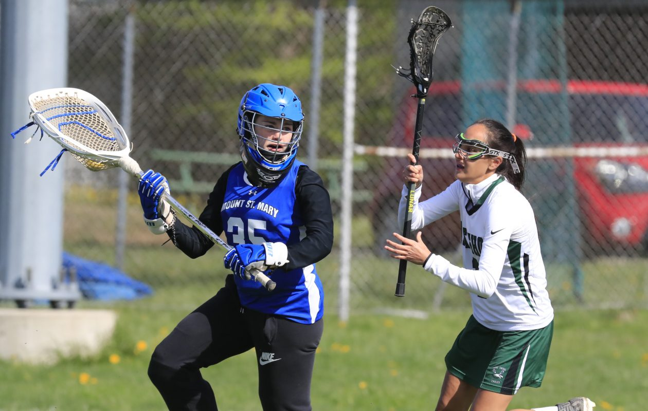 Mount St. Mary junior Samantha Miller was named the 2017 All-Catholic Defensive Player of the Year.  (Harry Scull Jr./Buffalo News)