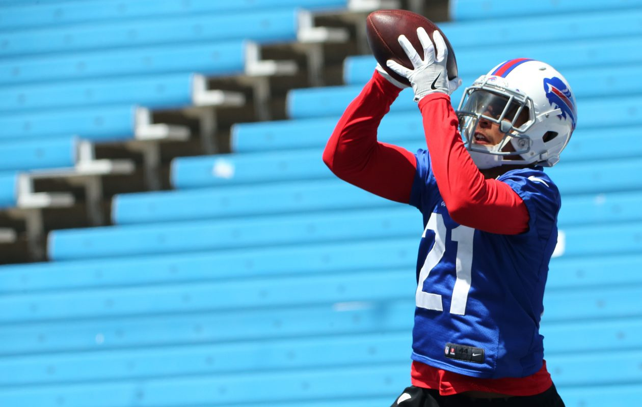 Buffalo Bills safety Jordan Poyer is fully recovered after a scary hit ended his season after just six games in 2016. (Derek Gee/Buffalo News)