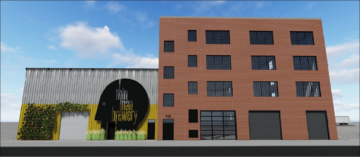 Developer Rocco Termini plans to turn a vacant building at 166 Chandler St. into the new home for Thin Man Brewery and a business incubator.
