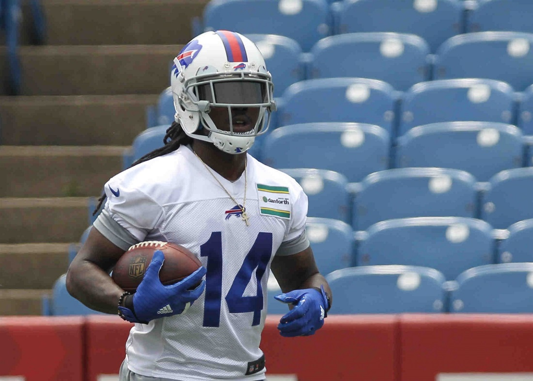 Wide receiver Sammy Watkins will play Thursday for about a quarter. (James P. McCoy/Buffalo News)