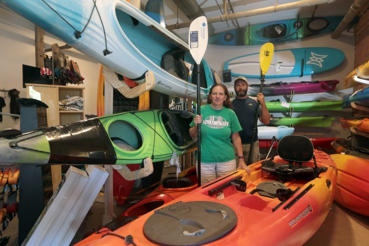 Elevator Alley Kayak makes waves off Old First Ward