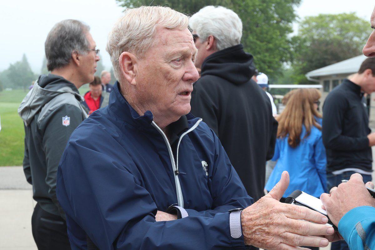 Former Bills GM Bill Polian (James P. McCoy/Buffalo News)