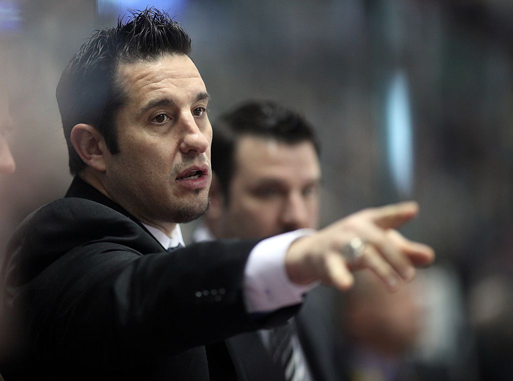 Bob Boughner is about to move from San Jose to Florida (Getty Images).