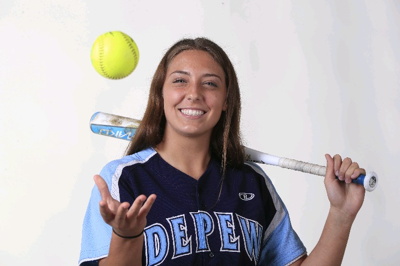 The Prep Talk Athlete of the Year in softball is Karsen Cotton of Depew. (Harry Scull Jr./Buffalo News)