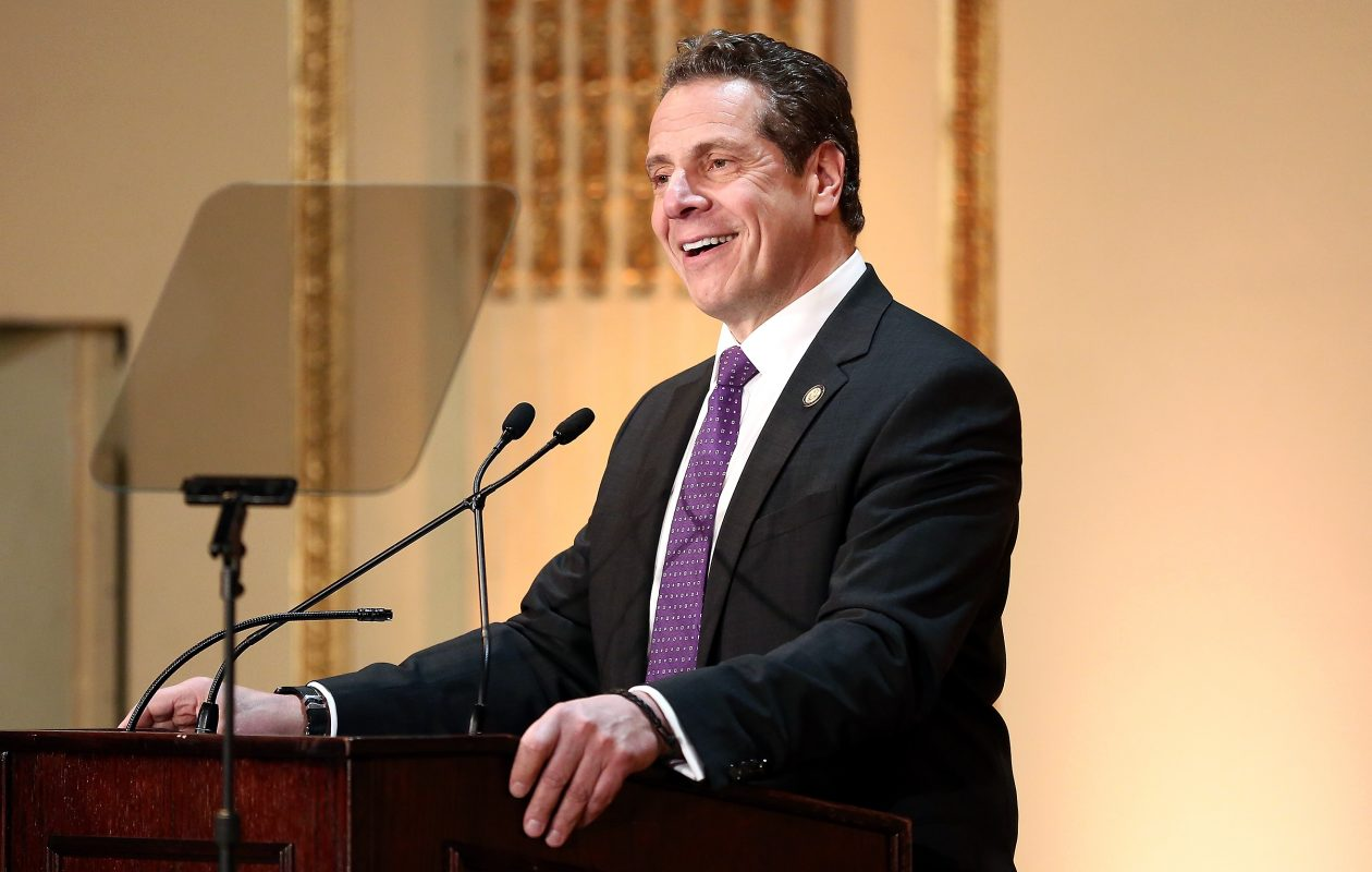 """These are not moderate, responsible public officials,"" Gov. Andrew M. Cuomo said of the nine Republican House members from New York. ""These are political pawns to the ultraconservative puppet masters in Washington."" (Getty Images)"