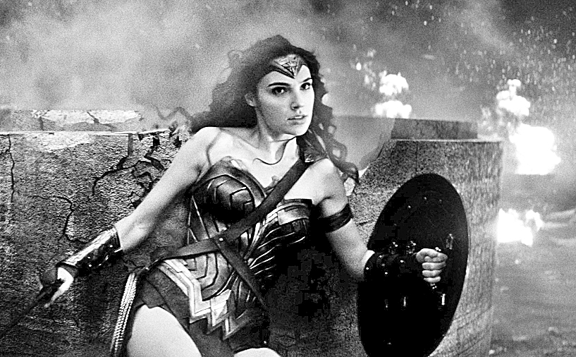"Gal Gadot as Wonder Woman in ""Batman v. Superman."" (Photo courtesy Warner Bros. Pictures/TNS)"